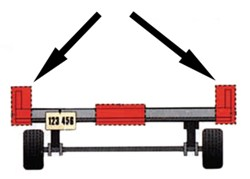 "Trailer over 80"" wide that can use combination