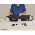 CIPA Custom Towing Mirrors - Slide-On Mirror - CM11400 Review