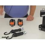 CargoBuckle Ratchet Straps - Retractable Strap - IMF103745-86 Review