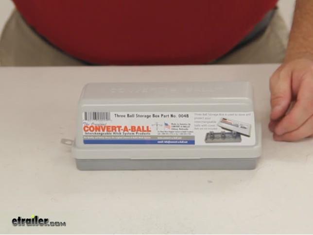 Convert-A-Ball 004B Storage Box