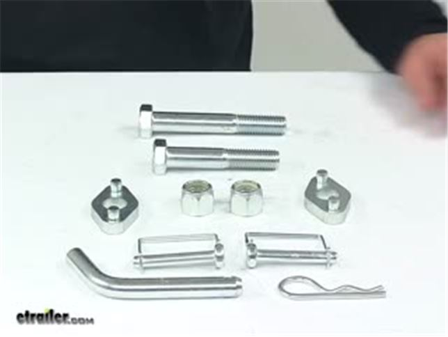 CURT 17550 TruTrack Weight Distribution Hardware Kit