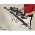 Dexter Axle Trailer Axles - Leaf Spring Suspension - 35545E-ST-EZ-89 Review