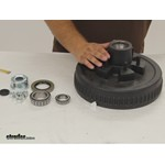 Dexter Axle Trailer Hubs and Drums - Hub with Integrated Drum - 8-201-5UC3-EZ Review
