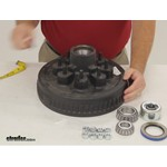 Dexter Axle Trailer Hubs and Drums - Hub with Integrated Drum - 8-219-4UC3-EZ Review
