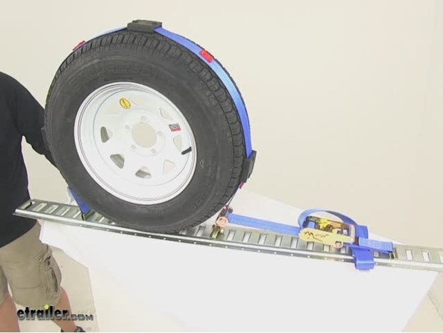 2150 Tiedown Strap for Tires from 12 to 16 Roadmaster