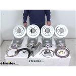Review of Hydrastar Trailer Brakes - Tandem Axle Disc Brake Kit - HSE7K-T1SO