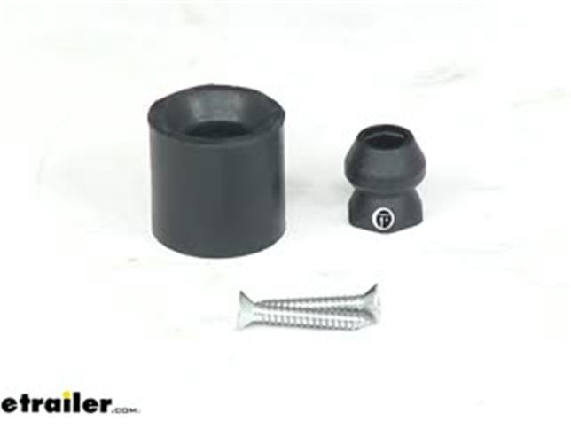 8 JR Products 10665 Low Profile Bumper Door Holder