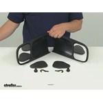 Longview Custom Towing Mirrors - Slide-On Mirror - LVT-1000 Review