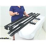 Review of Rhino Rack Ladder Racks - Roof Rack System - Truck Cap Ladder Rack - Y02-480