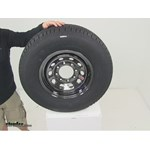 Taskmaster Tires and Wheels - Tire with Wheel - A16RTK8BMPVD Review