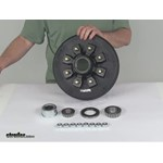 etrailer Trailer Hubs and Drums - Hub with Integrated Drum - AKHD-865-7-2-EZ-K Review