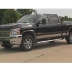 Front Mount Trailer Hitch Installation - 2008 Chevrolet Silverado
