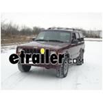 Trailer Hitch Installation - 2000 Jeep Cherokee