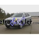 Trailer Wiring Harness Installation - 2009 Hyundai Santa Fe