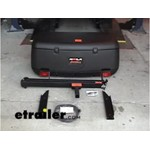 Rola Swinging Hitch Mounted Cargo Carrier Assembly