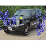 Tow Bar Wiring Diode Installation - 2011 Jeep Liberty