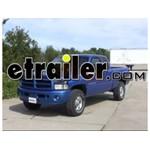 Trailer Brake Controller Installation - 1999 Dodge Ram Pickup