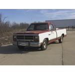 Trailer Hitch Installation - 1987 Dodge Ram Pickup