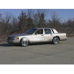 Trailer Hitch Installation - 1992 Lincoln Town Car