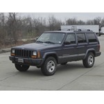 Trailer Hitch Installation - 2001 Jeep Cherokee