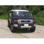 Front Mount Trailer Hitch Installation - 2008 Toyota FJ Cruiser