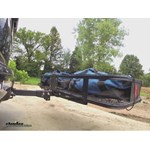 Curt Hitch Folding Cargo Carrier Test Course