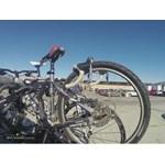 Hollywood Racks Baja 2 Trunk Bike Rack Test Course