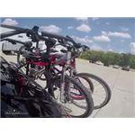 Malone Hanger Trunk Mount 3 Bike Rack Test Course
