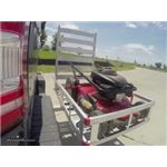 MaxxTow Cargo Carrier with Pivoting Ramp Test Course