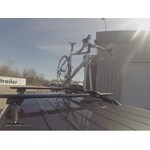 RockyMounts SwitchHitter Roof Bike Rack Test Course