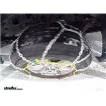 Titan Alloy Snow Tire Chains Test Course
