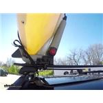 Yakima BowDown Folding J-Style Kayak Carrier Test Course