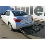 Rola 21x55 Hitch Cargo Carrier Review - 2018 Toyota Corolla
