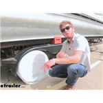 Adco Single Axle Ultra Tyre Gard RV Wheel Covers Review and Installation