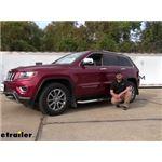 Aries AeroTread Running Boards Installation - 2014 Jeep Grand Cherokee