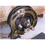 Electric Trailer Brake Kit Self-Adjusting Left and Right Hand Assemblies Installation