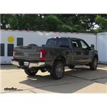 B and W Companion OEM 5th Wheel Trailer Hitch Installation - 2018 Ford F-350 Super Duty