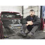 B and W Companion OEM 5th Wheel Hitch with Slider Installation - 2017 Chevrolet Silverado 3500