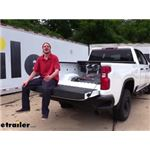 B and W Custom Installation Kit with Base Rails Installation - 2020 Chevrolet Silverado 2500