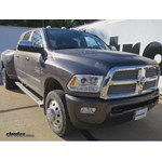 Gooseneck Trailer Hitch Installation - 2014 Ram 3500
