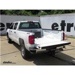 B and W Underbed Gooseneck Trailer Hitch Installation - 2016 Chevrolet Silverado 2500