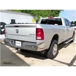 B and W Gooseneck Trailer Hitch Installation - 2016 Ram 2500