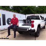 B and W Patriot 5th Wheel Trailer Hitch Installation - 2020 Chevrolet Silverado 2500