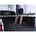 B and W Turnoverball Underbed Gooseneck Trailer Hitch Installation - 2020 GMC Sierra 2500