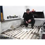 B and W Gooseneck Trailer Hitch Installation - 2014 Ram 2500