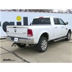 B and W Gooseneck Trailer Hitch Installation - 2015 Ram 2500