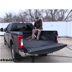 B and W Turnoverball Gooseneck Trailer Hitch Installation - 2018 Ford F-250 Super Duty