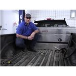 B and W Turnoverball Gooseneck Trailer Hitch Installation - 2019 Ford F-350 Super Duty