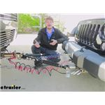 Blue Ox Alpha 2 Tow Bar Installation - 2014 Jeep Wrangler Unlimited
