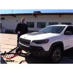 Blue Ox Ascent Non-Binding Tow Bar Installation - 2020 Jeep Cherokee